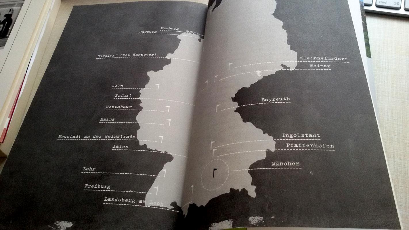 Wortwalz-Landkarte